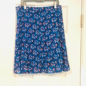 Floral J.Crew Factory Skirt